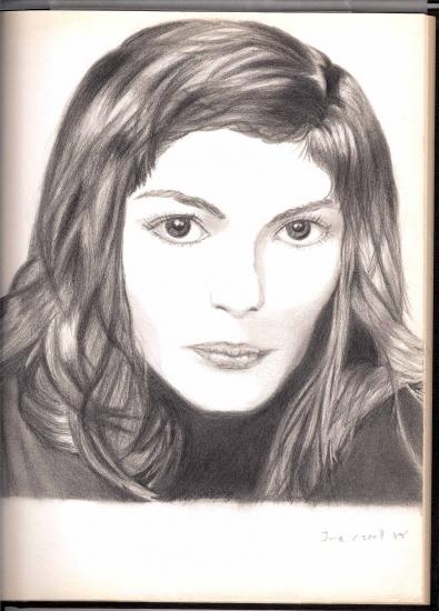 Audrey Tautou by silavindelakin